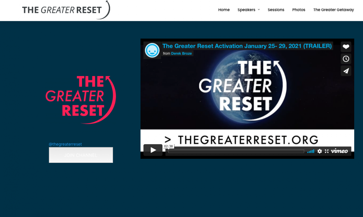 The Greater Reset