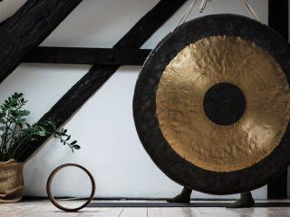 Sproščanje z zvokom gonga